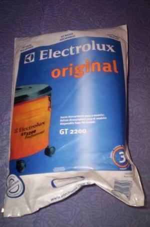 Bolsa Descartable Aspiradora Electrolux Modelo Gt