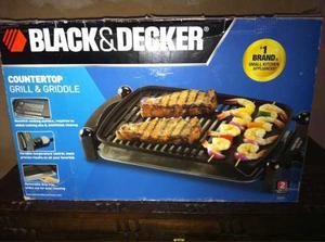 Parrilla Y Plancha Black & Decker Para Mostrador