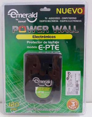 Protector De Voltaje Emerald Para Equipos Electrónicos