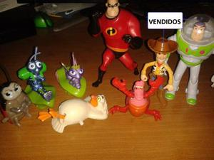 Colección Disney,los Increíbles,bichos,toy Story,la
