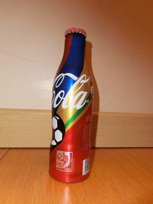 Botella Lata Aluminio Cocacola Sudafrica  Original
