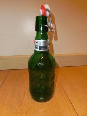 Botella Vacia Vidrio Con Tapa Hermetica