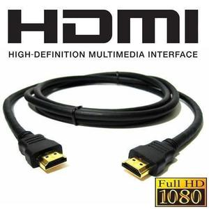 Cable Hdmi Full Hd p 3d 1.4 Mts Blu Ray Ps3 Xbox Ps4 Tv