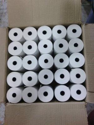 Rollos De Papel Bond 75x65 3 Pulgadas Cajas De 50 Unidades