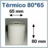 Rollos Termicos Para Impresoras Fiscales 80x65