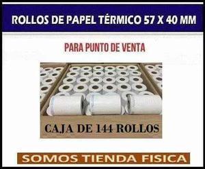 Rollos Térmicos Puntos De Venta 57x40x12