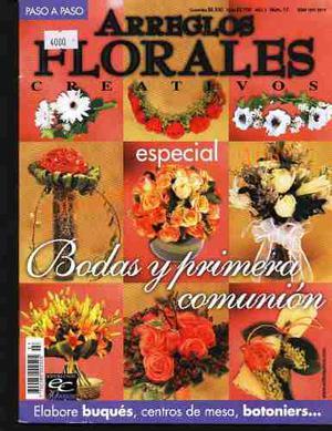 10 Revistas Para Hacer Arreglos Florales (lote 2) + Regalo