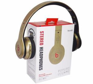 Audífono Beats, Mod: Tm-460 Micro Sd Mp3 Bluetooth
