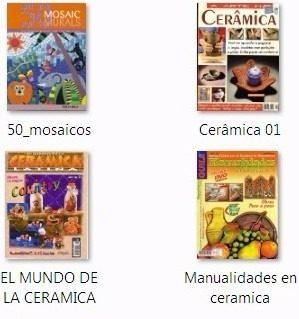 Cuatro Revistas De Manualidades En Ceramica