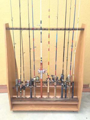 Mueble Porta Cañas De Pesca
