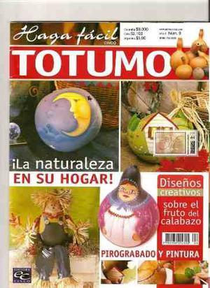 Revista De Pirograbado En Totuma