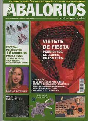 Revistas Crea Con Abalorios 1 Al 41 + Obsequio Por Compra