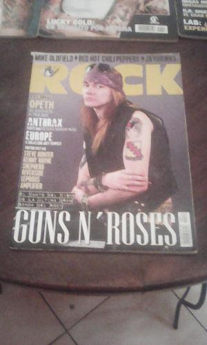 Vendo Revista De Guns N Roses Para Fans bs