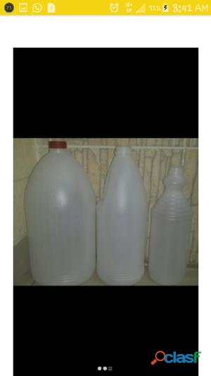 envases polietileno 1 litro tipo cloro
