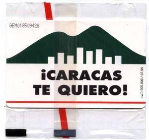 Caracas Te Quiero Tarjeta Nueva De Fecha  Nueva