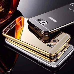 Forro Bumper Aluminio Tipo Espejo Samsung Galaxy S7.
