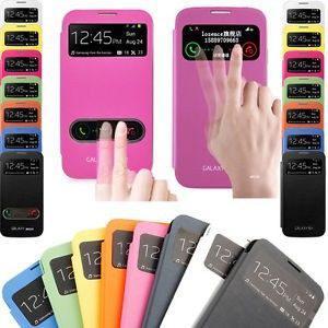 Forro Estuche Flip Cover S View Samsung S3 S4 S3mini S4mini