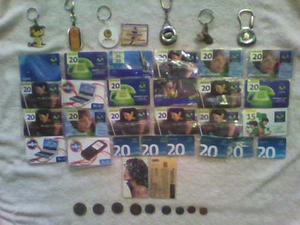 Llaveros,monedas, Tarjetas Telefonica,botella Coleccionar.