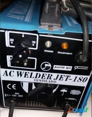 Máquina De Soldar Ac Welderjet180 110v/220v
