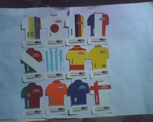 Serie De Tarjetas Telefonicas De Digitel De Futbol Usadas
