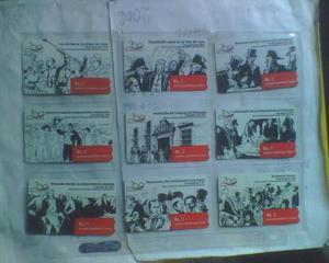 Tarjetas Telefonicas Cantv Bicentenario Serie Completa