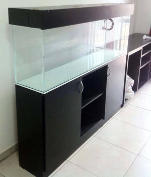 Se fabrican muebles para acuarios posot class - Pecera con mueble ...