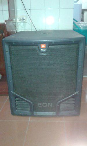 Bajo Amplifacado Jbl 500 Serie 518s Usa