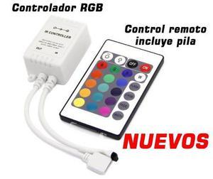 Control Rgb Para Cinta De Luces Led Nuevos