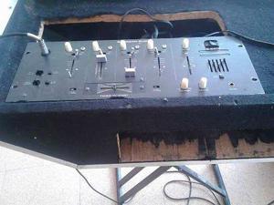 Corneta Pasiva Ev Y Mezclador American Audio Modelo G-
