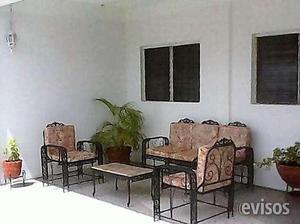 Muebles de jardin de hierro tipo balancin... en Ciudad