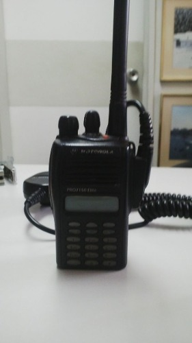 Radio Portatil Motorola Ep 450 S Cargador Pila Ptt
