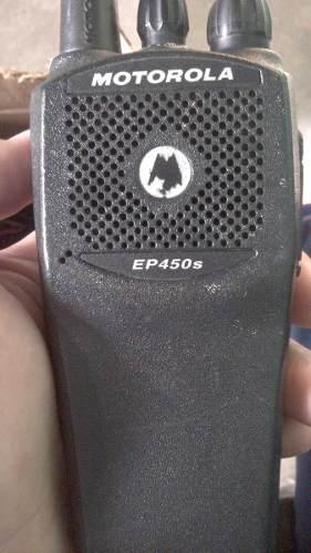 Radio Portatil Motorola Mod. Ep 450s Con Antena Y Bateria