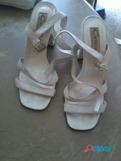 Sandalias Blancas Talla 39