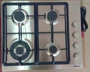 Tope De Cocina 4 Hornillas 60cm Rania Acero Mod. Ra0423d
