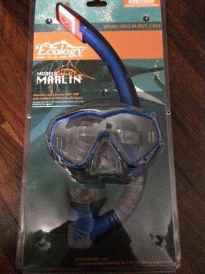 Visor Con Snorkel Ecology Modelo Marlin