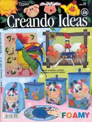 10 Revistas De Manualidades En Foami (lote 3)