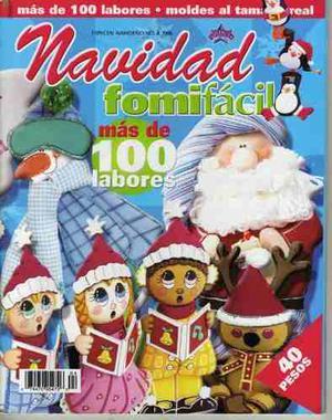 12 Revistas Para Hacer Manualidades De Navidad (lote 1)