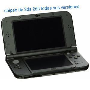 Chipeo De Consola 3ds 2ds Todas Las Versiones