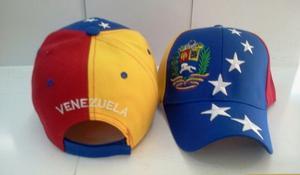 Gorras Tricolor De Venezuela
