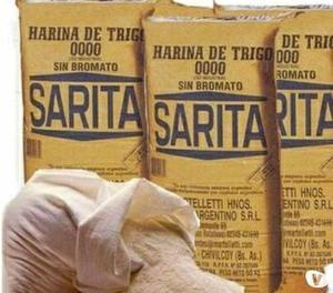 HARINA DE TRIGO POR BULTO DE 50KG EN 32 MIL