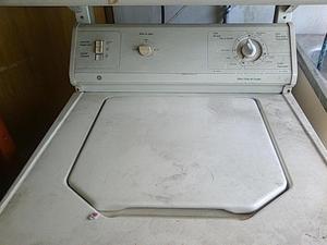 Lavadora General Electric Morocha lavadora y secadora