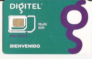 Linea Especial Para Bam 4g Lte Digitel Mod. Mf823 Y Es