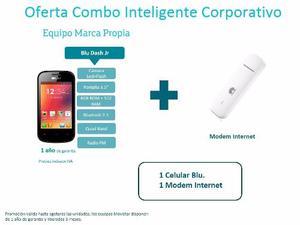 Modem Internet Movistar+blu 3g Solo Empresas O Profesionales