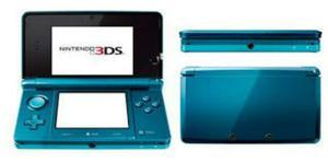 Nintendo 3ds Azul De Poco Uso, Con Kit De Accesorios Nuevos