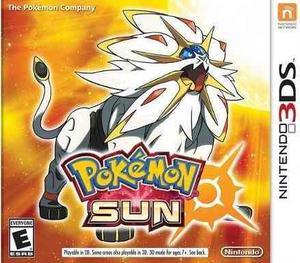 Nintendo 3ds Pokemon Sun / Sol Original Físico