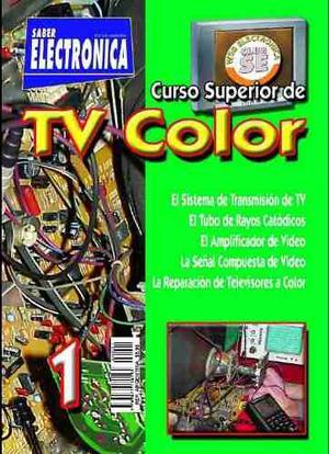 Ocho (8) Revistas Para Reparar Tv A Color