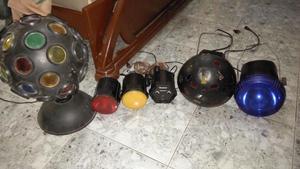 Oferta de luces para minitecas