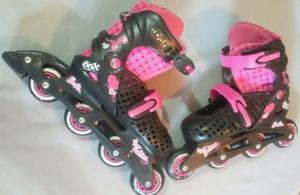 Patines En Línea Barbie Para Niña