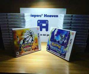 Pokemon Sun & Moon Nuevos Sellados Entrega Inmediata