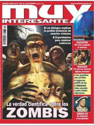 Revista Digital - Muy Interesante - Zombies
